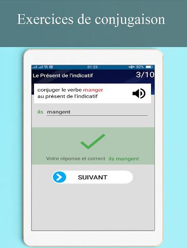 Conjugueur Et Exercices Conjugaison Francaise Download Apk Free For Android Apktume Com