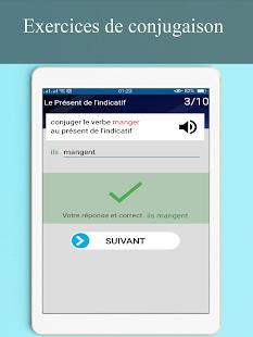 Download conjugueur-exercices conjugaison française For PC Windows and Mac apk screenshot 14