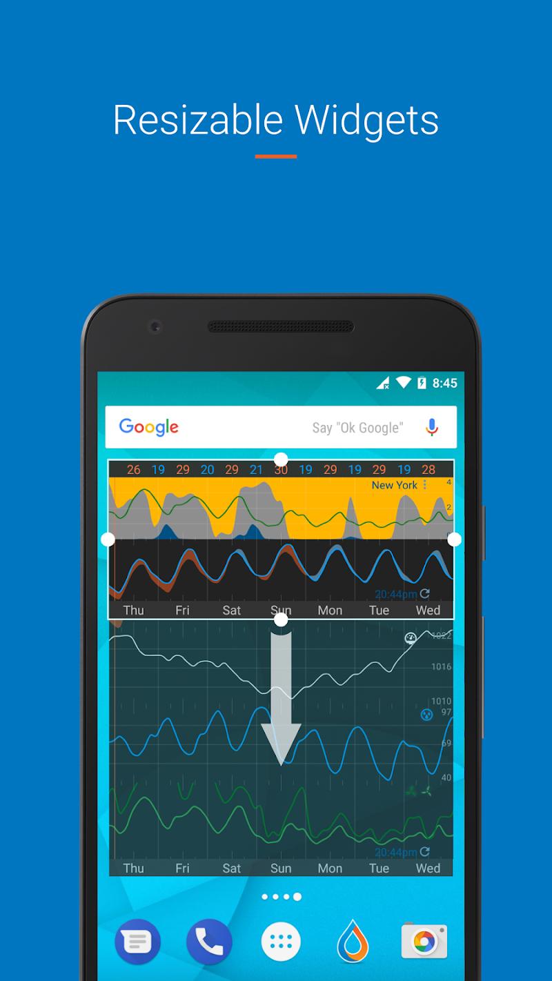 Flowx: visual long range weather forecast Screenshot 6