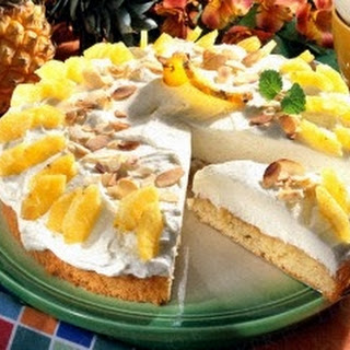 Ananas-Mandel-Torte