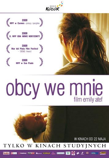 Polski plakat filmu 'Obcy We Mnie'