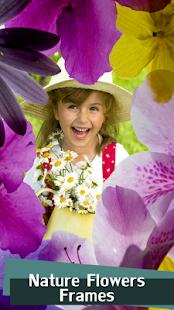 Nature Flowers Frames - náhled