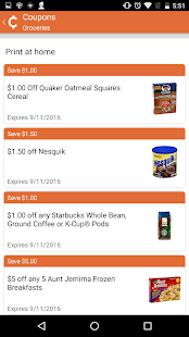 Chuze: Shopping Deals, Coupons- screenshot thumbnail