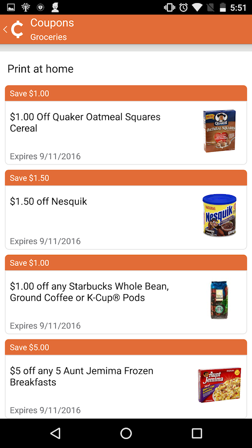 Chuze: Shopping Deals, Coupons- screenshot