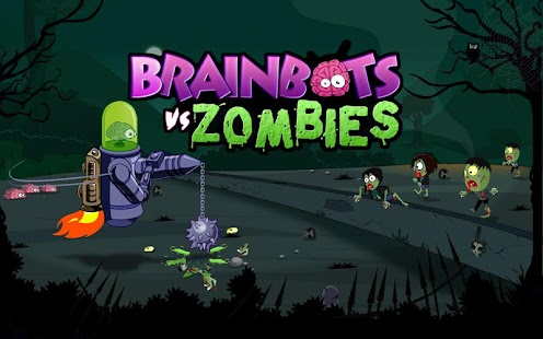 Brainbots vs Zombies- screenshot thumbnail