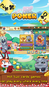 Free Poker Toon  Texas Online Card Game 2