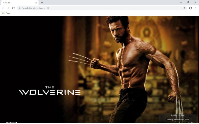 Walverine New Tab & Wallpapers Collection