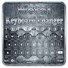 Teclado de metal icon
