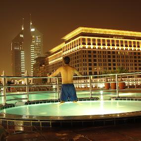 Candid Shot by Awais Javed - People Street & Candids ( water, dubai, candid, pool. swimming )