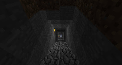 Photo: This stairway starts at the top of a very tall mountain, and descends close to the bedrock.  It's a long-ass stairway.
