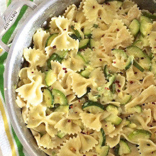 """""""How To Use Up Extra Zucchini"""" Pasta Dinner"""