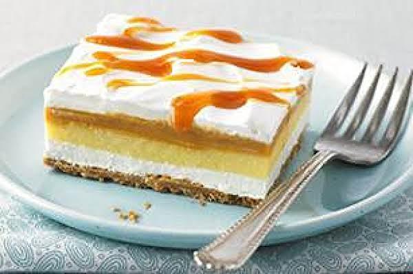 Crème Caramel Squares Recipe