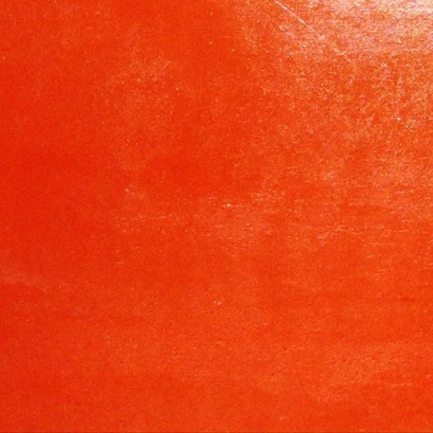 béton ciré orange