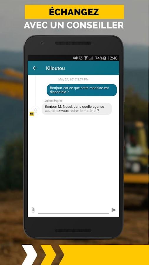 kiloutou pro location mat riel b timent et btp android apps on google play. Black Bedroom Furniture Sets. Home Design Ideas