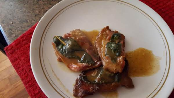 Easy Veal Saltimbocca
