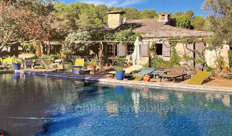 House with pool Teyran