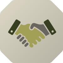 join, handshake