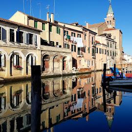 Chioggia, Italy by Dražen Komadina - City,  Street & Park  Street Scenes ( dražen komadina, chioggia, italy )