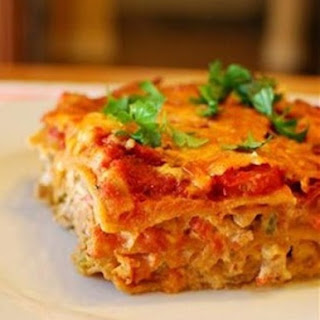 Spicy Mexican Chicken Lasagne
