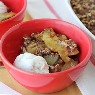 Gluten-Free Apple Crisp {Dairy-Free}