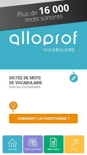 Dictu00e9e de vocabulaire Alloprof Apk Download 1