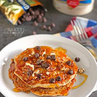 Oatmeal Cookie Pancakes.