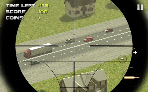 Sniper: Traffic Hunter screenshot 3