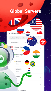 UFO VPN Basic: Free VPN Proxy & Secure WiFi Master Mod APK [Premium Cracked] 5