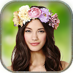 Flower Crown Hairstyle Effects Icon
