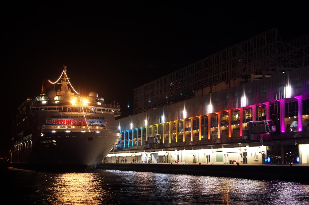 Hong Kong Tsim Sha Tsui Night View