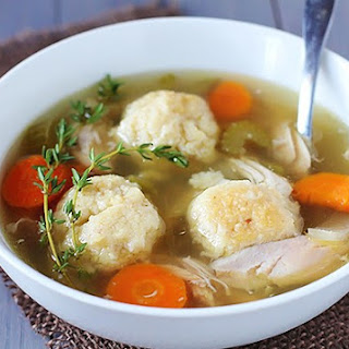 Weight Watchers Matzo Ball Soup