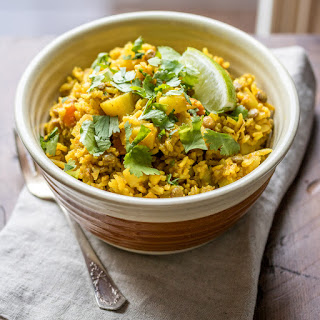 One Pot Lentil Dahl & Rice Recipe