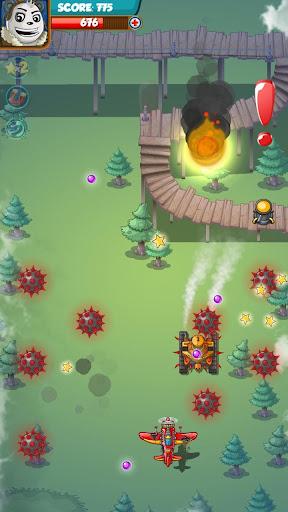 PANDA FIGHTER PLANE: AIR COMBAT 2020 GAMES android2mod screenshots 6