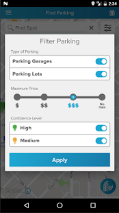 ParkiFi, Real-Time Parking App- screenshot thumbnail