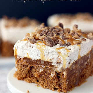 Double Pumpkin Poke Cake.