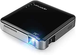 APEMAN NM4 Mini Portable Projector, Video DLP Pocket Projector for Home and Outdoor Entertainment, Support 1080P HDMI Inpu...