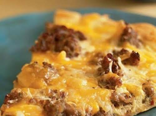 "Breakfast Pizza Recipe ""This was our Christmas breakfast today and we loved it!..."