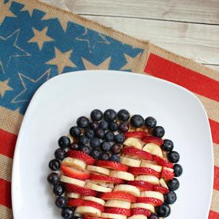 Celebrate the USA Flag Waffles