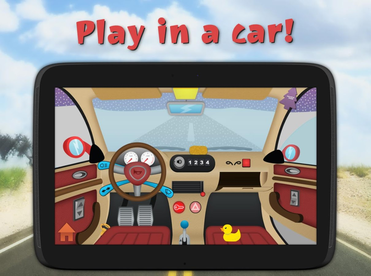 Kids Toy Car Driving Game Free- screenshot