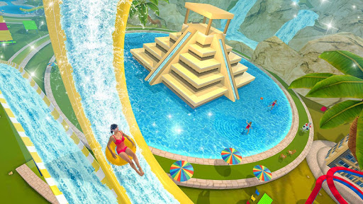 Water Parks Extreme Slide Ride : Amusement Park 3D 1.32 screenshots 12