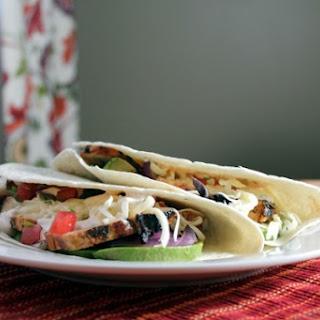 Mojito Chicken Tacos