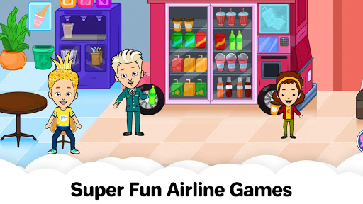 My Airport Town: Kids City Airplane Games for Free 1.4 screenshots 8