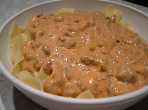 Ground Beef Skillet Paprikash Recipe