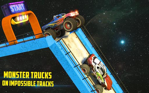 Monster Truck Mega Ramp Stunts Extreme Stunt Games screenshots 9