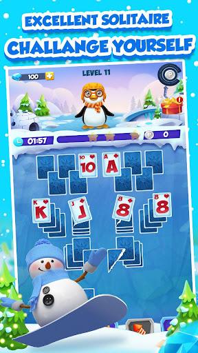 Code Triche Solitaire Match Penguin Adventure APK MOD screenshots 5