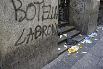 Photo: Huelga basuras en Madrid.