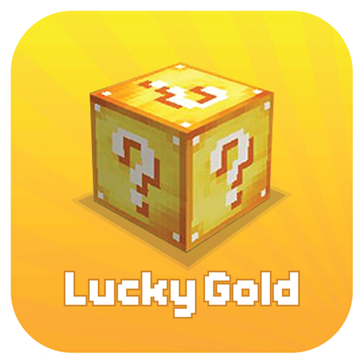 Mod Lucky Gold Blocks for MCPE