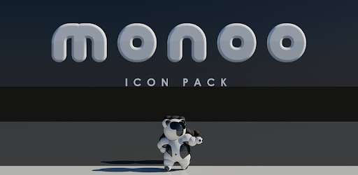 MONOO Icon Pack app for Android screenshot