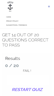 GMDSS Quiz - náhled