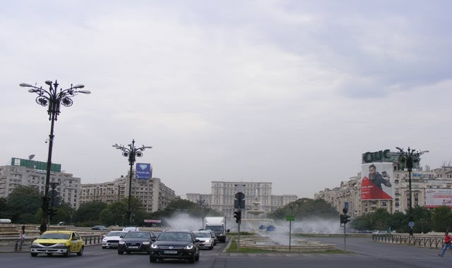 RAINS IN BUCHAREST IN SEPTEMBER